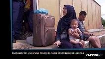 Par désespoir, ce refugié syrien pousse sa femme et son bébé sur les rails