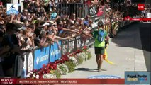 UTMB® 2015 - Arrival 1st UTMB® and PTL® (LIVE english)