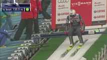 Norwegian ski jumper Anders Bardal broke his wrist and he lost consciousness after the fall in quali.