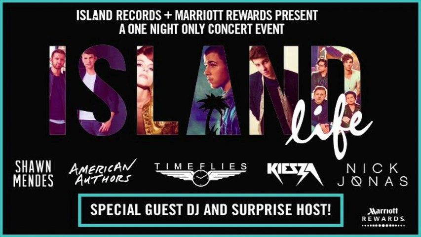 Island Life - September 8th 2015 Live Event Promo