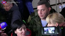 [eng cc subs] 10th humanitarian convoy arrives to Donetsk