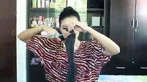 2014 Hairstyle Tutorial Kim Kardashian Inspired Braided High Ponytail At Home 2016