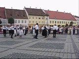 Saxon dance in Sibiu (Hermannstadt)