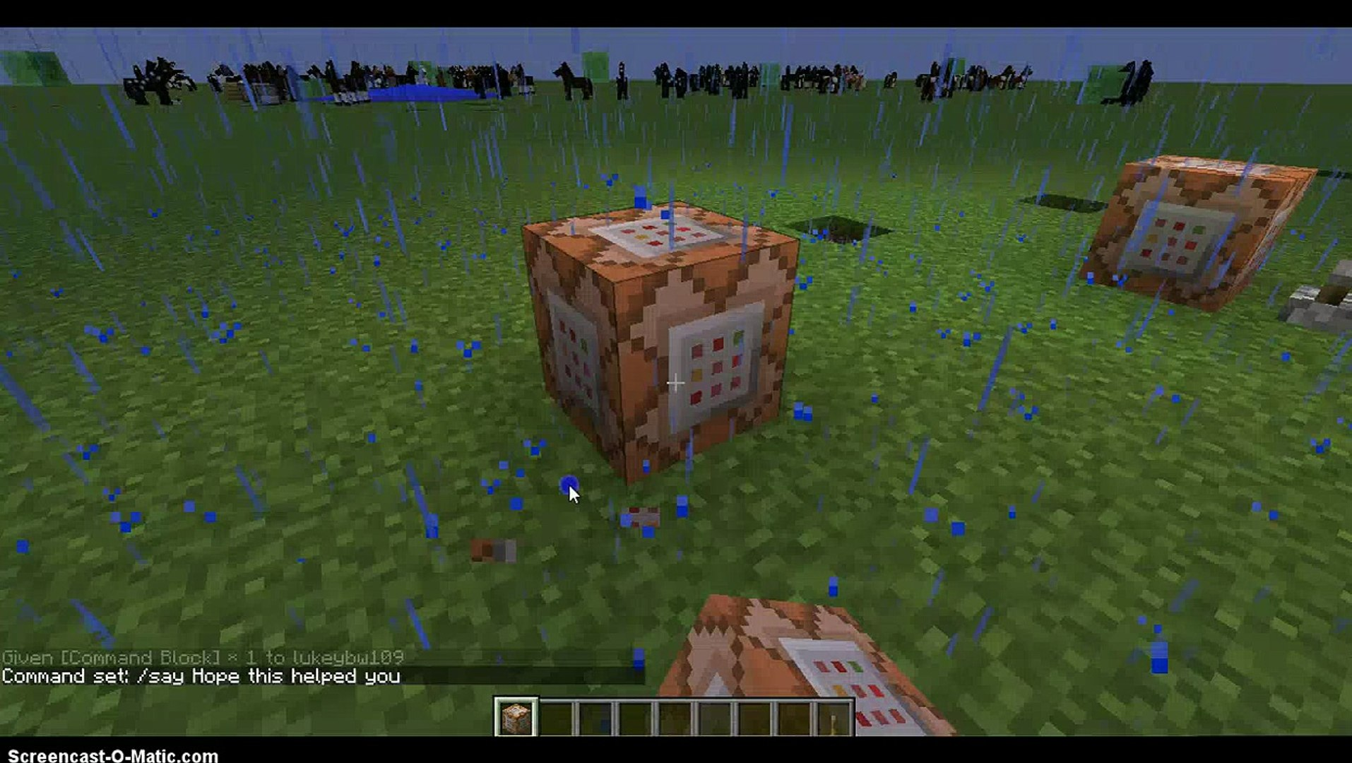 How to get a command block in Minecraft 8 1