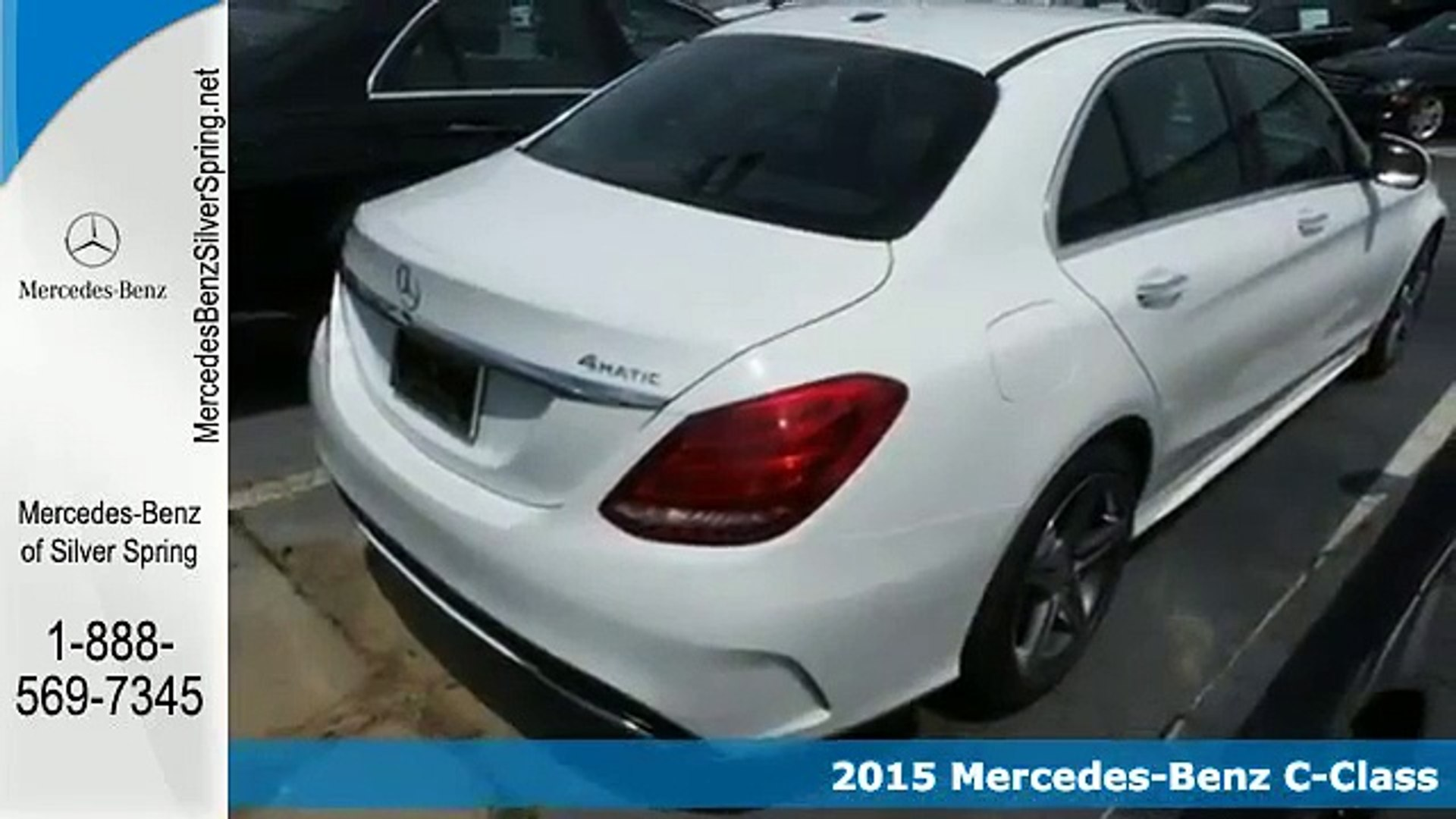 Mercedes Benz Of Silver Spring >> Used 2015 Mercedes Benz C Class Silver Spring