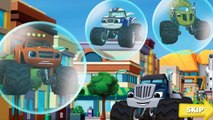 Blaze and the Monster Machines, Blaze Race Cartoon Games Full Episodes