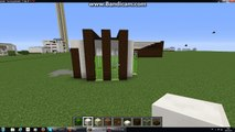 MineCraft Lets build a modern hut  9x9