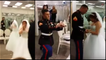 Marine Proposes While Girlfriend Is Wedding Dress Shopping