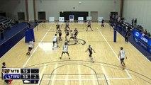 2014-10-31 TWU Men's Volleyball Highlights vs Manitoba