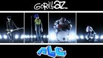 Gorillaz Live Feat. Phi Life Cypher   Clint Eastwood   Band Visuals   Brit Awards 2002