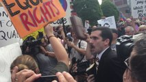 Protesters Rage Against Jailing of Clerk Who Refused to Grant Same-Sex Marriage Licenses