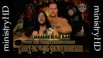 The Unholy Alliance Era Vol. 8   The Undertaker & Big Show vs Kane & X-Pac Tag Team Titles Match 8/22/99