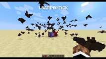 Minecraft: Extreme Bat Spawning (60 FPS) - 15w34a