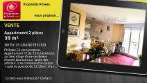 A vendre - Appartement - NOISY LE GRAND (93160) - 2 pièces - 39m²