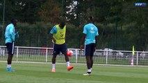 Gestes techniques de Pogba et Zouma