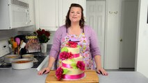 How to Make a Wedding Cake  Baking and Frosting P.1 from Cookies Cupcakes and Cardio
