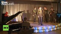 Russia: Red Army Choir celebrate 30 years of Modern Talking for the red army one