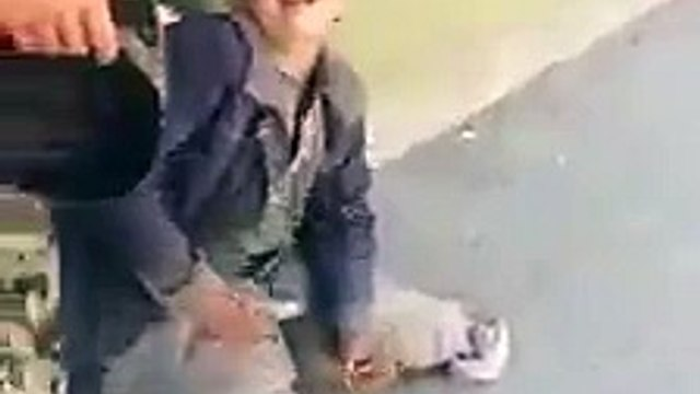 Beggar caught faking disability (boy version)