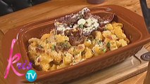 Kris TV: JC cooks Bacon Mac and Cheese