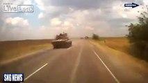 Ukrainian Armor Convoy moving towards Donetsk Airport