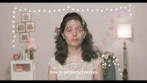 Cette survivante à une attaque à l'acide fait des tutos maquillage