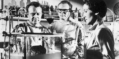Donovan's Brain (1953 horror/science fiction film original trailer) - Curt Siodmak Nancy Reagan
