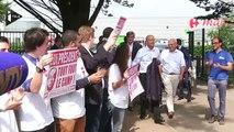 A. Juppé, F. Fillon et N. Sarkozy réunis à La Baule