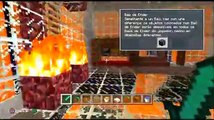 Minecraft- Best Fire House on Minecraft (Fire House)