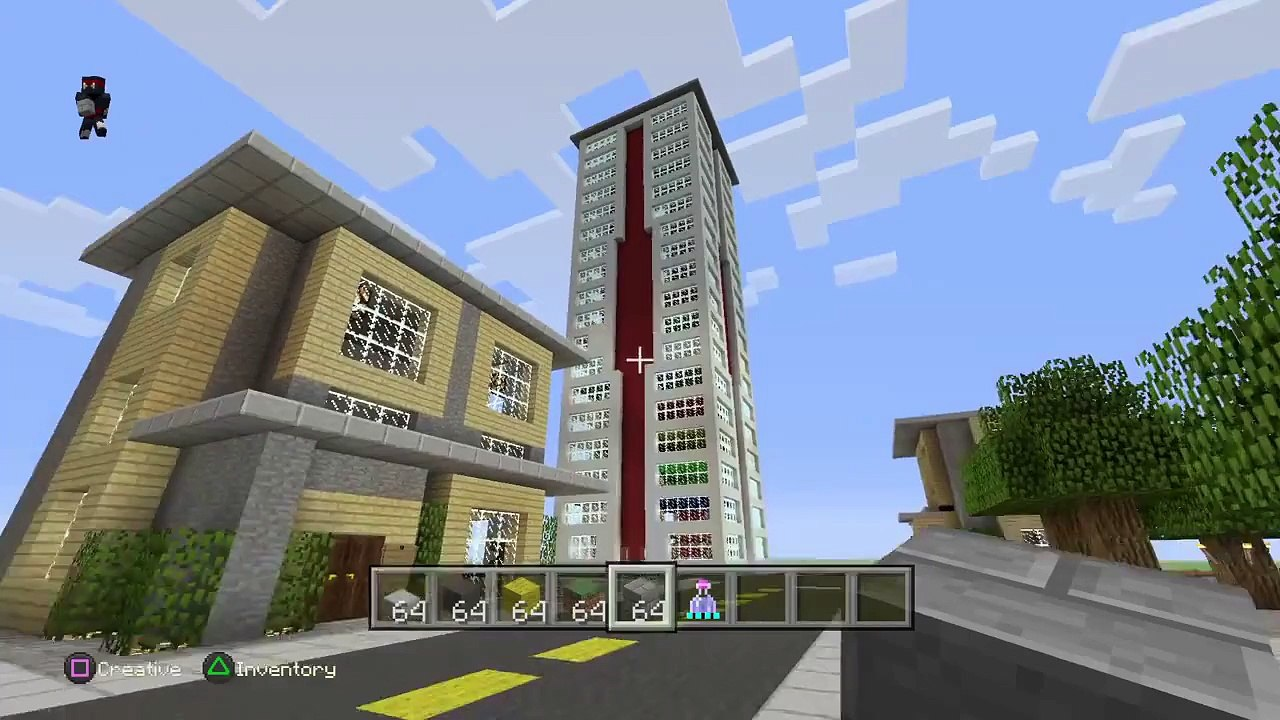 Minecraft Ps4 ideas on building a city