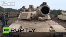 American M1A2 Abrams & Romanian TR-85M1 • Tanks - video dailymotion