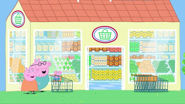Peppa Pig: Let's Go Shopping Peppa Storybook