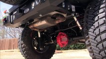 "aFe Power MACHForce HiTuck 2.5"" Exhaust with aFe Stage 2 Pro 5R Intake 2014 Jeep Wangler Rubicon"