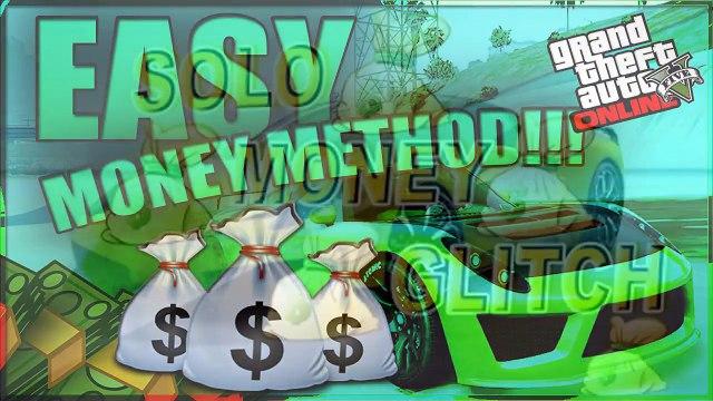GTA 5 Glitches NEW EASY MONEY GLITCH 1 26/1 28 QUICK
