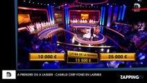 A prendre ou à laisser : Camille Cerf fond en larmes sur le plateau de l'émission !
