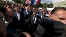 La Baule : la photo de famille avec Juppé, Fillon et Sarkozy en version longue