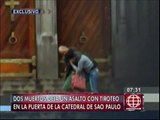 Brasil: 2 muertos por tiroteo y uno de ellos era un vagabundo que salvó a mujer  rehén [Video]