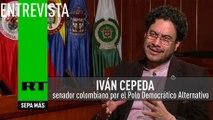 Entrevista con Iván Cepeda, senador colombiano por el Polo Democrático Alternativo