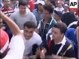 Soccer fan riots. Tunisian VS English hooligans. France, 1998 FIFA World Cup. Old school
