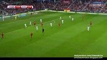 1-0 Jordi Alba Amazing Goal | Spain v. Slovakia - European Qualifiers 05.09.2015 HD