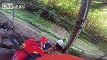 Extreme Kayaking Down Drainage Ditch