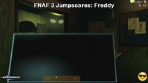 FNAF 3 ALL JUMPSCARES! | Five Nights at Freddys 3 All Animatronics BLCD - manga - DramaCD - Anime - Anime song - amv