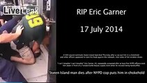 Eric Garner staten island man killed after nypd cop puts him in a chokehold