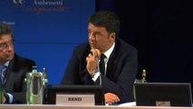 Renzi: Italia non è più problema per Ue, basta piangersi addosso