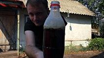 Что будет если в Колу добавить ПРОПАН ? Coca Cola + propan = turbo ROCKET