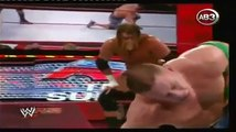 WWE Raw Triple H vs John Cena (Looser Leaves Raw Brand) WWE
