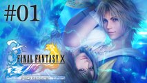 Let's Play LIVE Final Fantasy X HD - Episode 1 : Tidus !