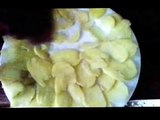cómo hacer papas fritas (snack)/ how to make potato chips