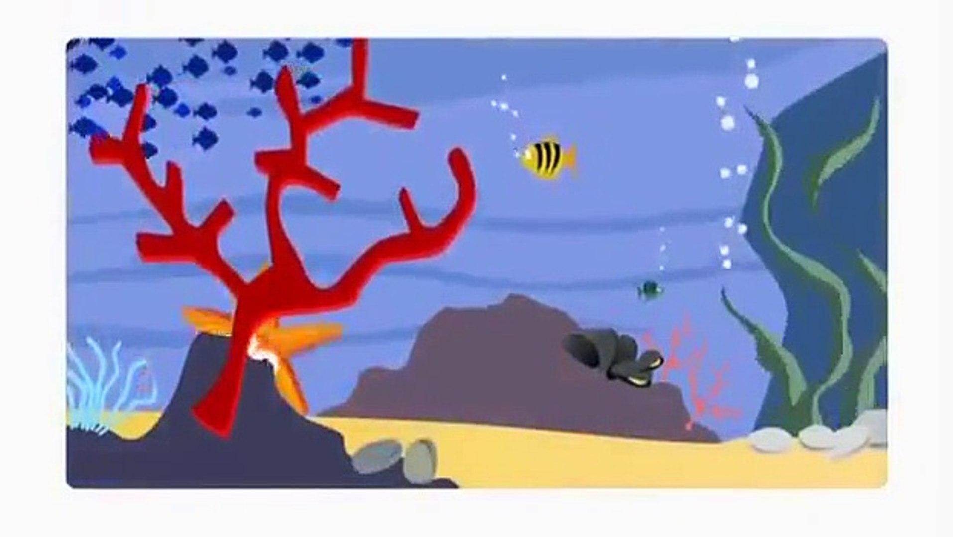 Детский Зоопарк Морская звезда Развивающий мультфильм Kids Zoo Cartoon Starfish Developing