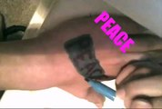 BODY ART ~ WITH CRAZ-ART BODY MARKERS!!!!!