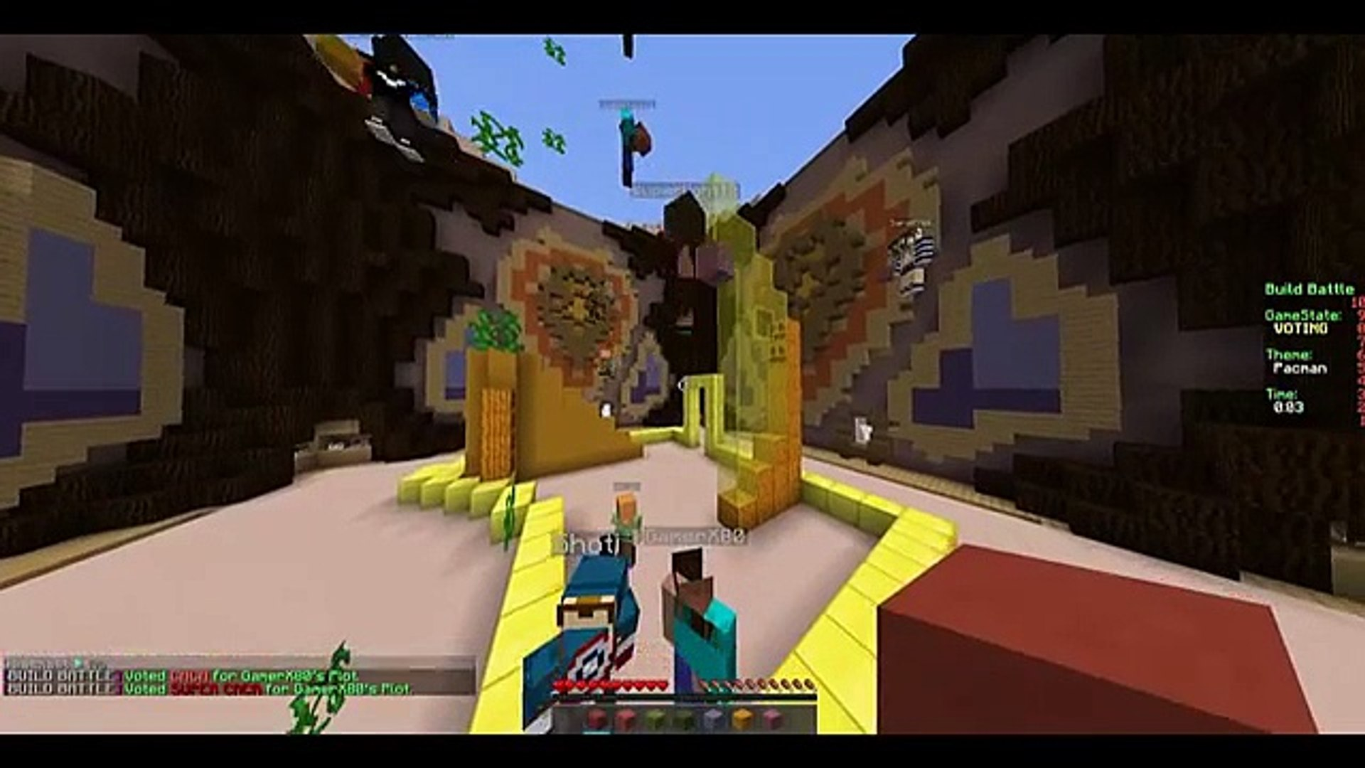 Hacks En BuildBattle?? || Minecraft BuildBattle